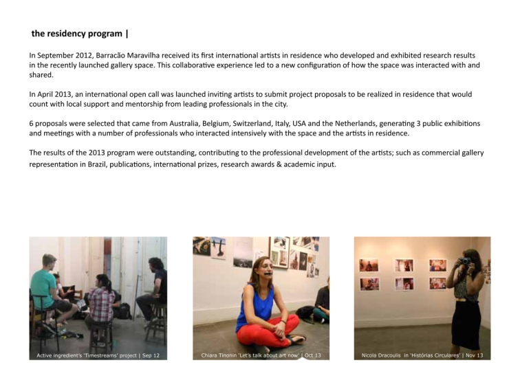 the residency program